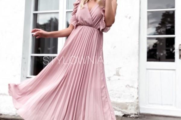 Letnie sukienki kopertowe