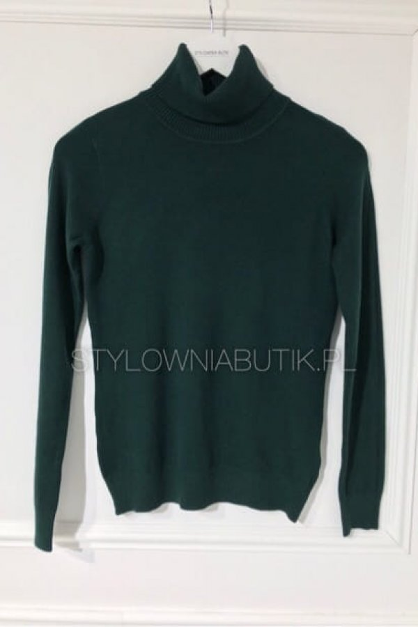 SWETER GOLF LEMO ZIELONY