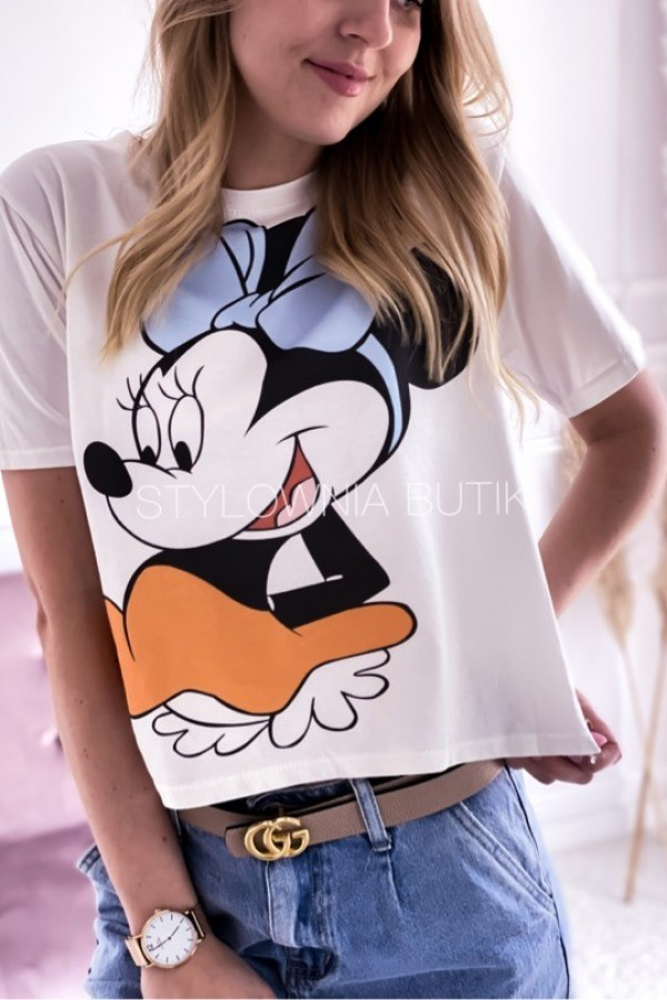 BLUZKA T-SHIRT MINNIE OVERSIZE