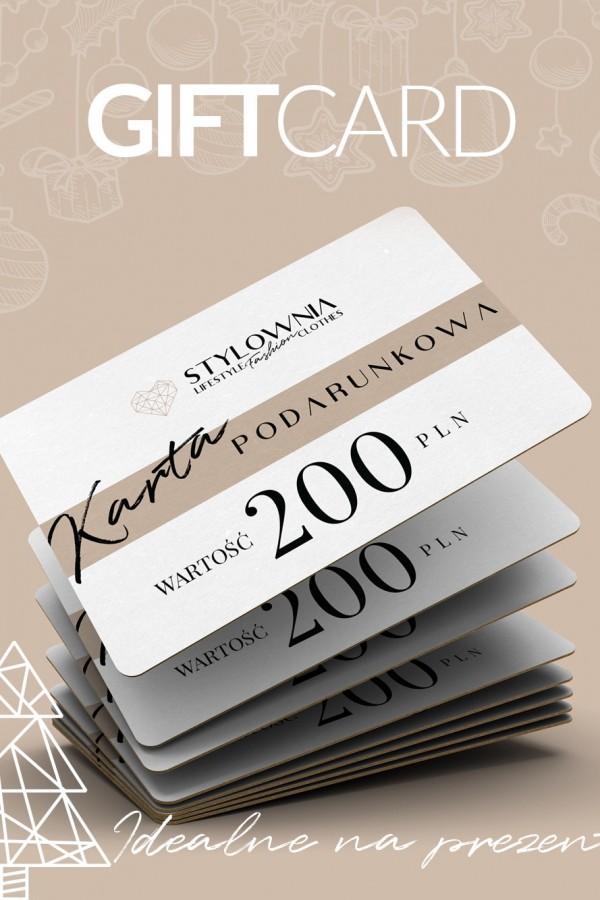 KARTA PODARUNKOWA 200 PLN